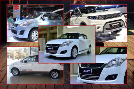 Bang gia xe o to Suzuki thang 4/2016 - Anh 1
