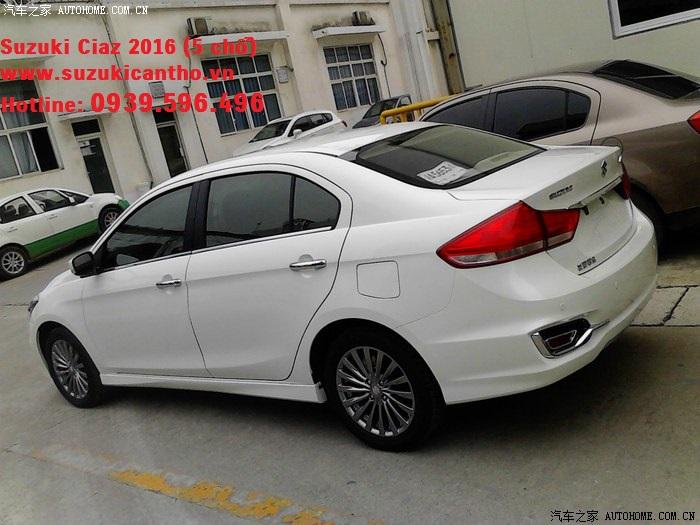 Suzuki-Alivio-spied-production-model-rear-quarter