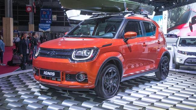 Xe crossover giá khoảng 300 triệu Đồng Suzuki Ignis ra mắt tại châu Âu