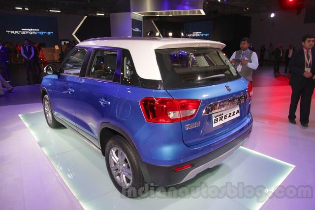 Được biết, Vitara Brezza là mẫu xe đầu tiên do liên doanh Maruti Suzuki tự mình phát triển.