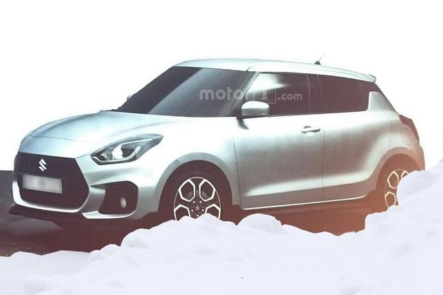 Hình ảnh được cho là của Suzuki Swift Sport...