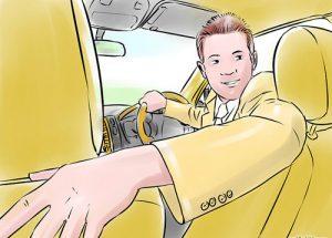 Hình ảnh 5 bước cơ bản để lùi xe an toàn số 3