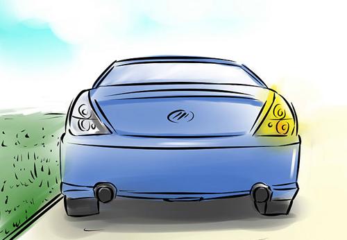 Hình ảnh 5 bước cơ bản để lùi xe an toàn số 1
