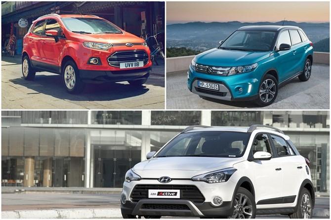 Nên chọn Ford EcoSport, Hyundai i20 Active hay Suzuki Vitara? - ảnh 1