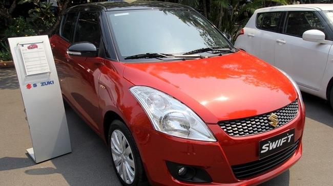 Suzuki Swift bản đặc biệt giá 575 triệu đồng