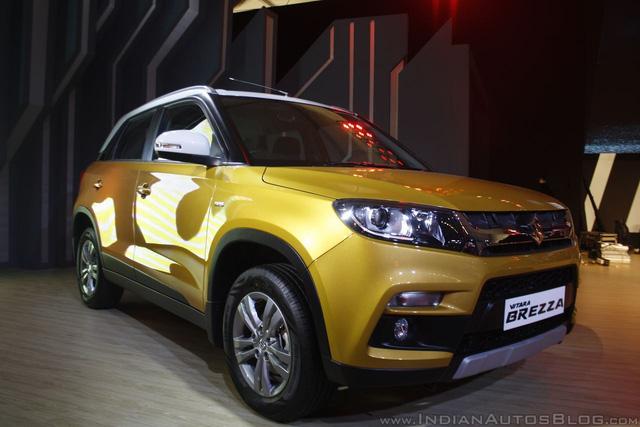 Trong triển lãm Auto Expo 2016, liên doanh Maruti Suzuki đã mang mẫu xe giá rẻ Vitara Brezza hoàn toàn mới đến để trưng bày và giới thiệu với người tiêu dùng Ấn Độ. Đến nay, Suzuki Vitara Brezza mới chính thức được tung ra thị trường Ấn Độ.