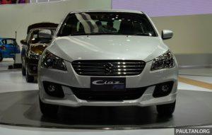 Suzuki Ciaz là mẫu xe cỡ nhỏ và giá rẻ đã lần đầu tiên được giới thiệu tại thị trường Thái Lan trong triển lãm Bangkok 2015 diễn ra vào hồi tháng 3 đầu năm. Đến nay, trong triển lãm xe quốc tế Thái Lan 2015, hãng Suzuki tiếp tục giới thiệu phiên bản thể thao hơn của Ciaz mang tên RS với người tiêu dùng tại xứ sở chùa tháp.